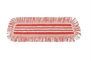 7523896 TASKI Ultra HD Damp Mop 40 Red 10pc